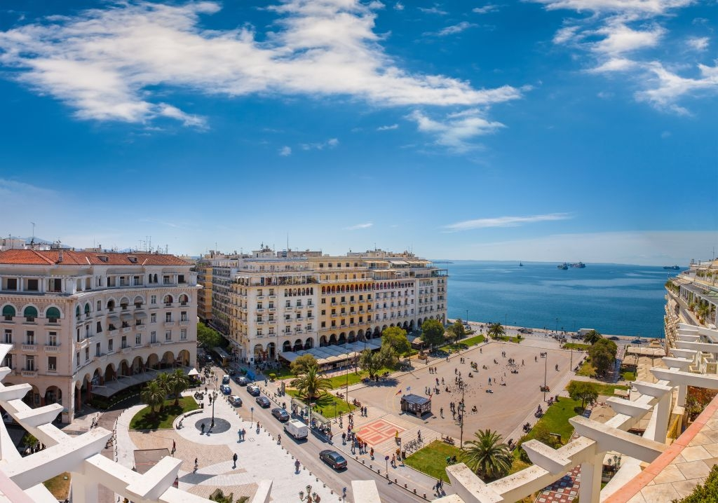 Giorno 1 - Salonicco - arrivo a Salonicco