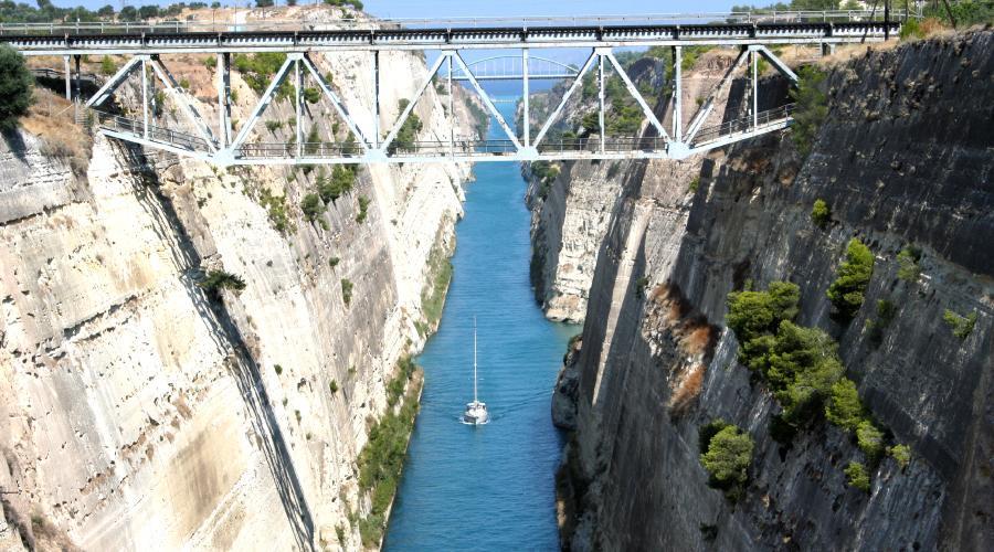 Giorno 3 - Canale di Corinto, Epidauro, Micene, Nauplia