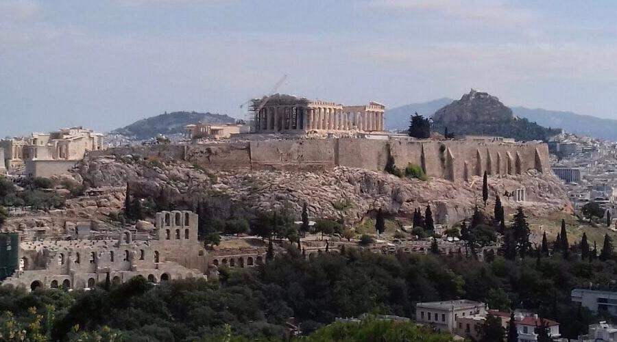 Atene - partenza per l'Italia