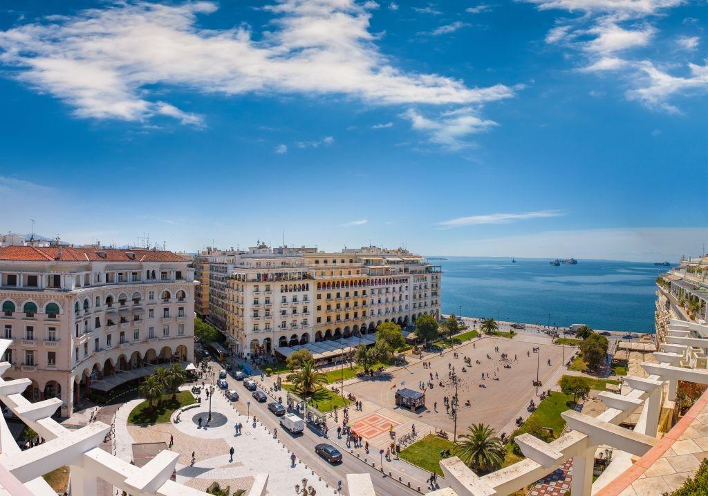 Salonicco - partenza per l'Italia