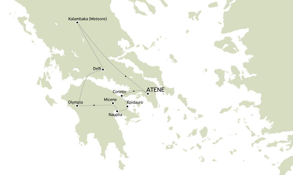 Minitour Grecia Classica e Meteore 4 giorni