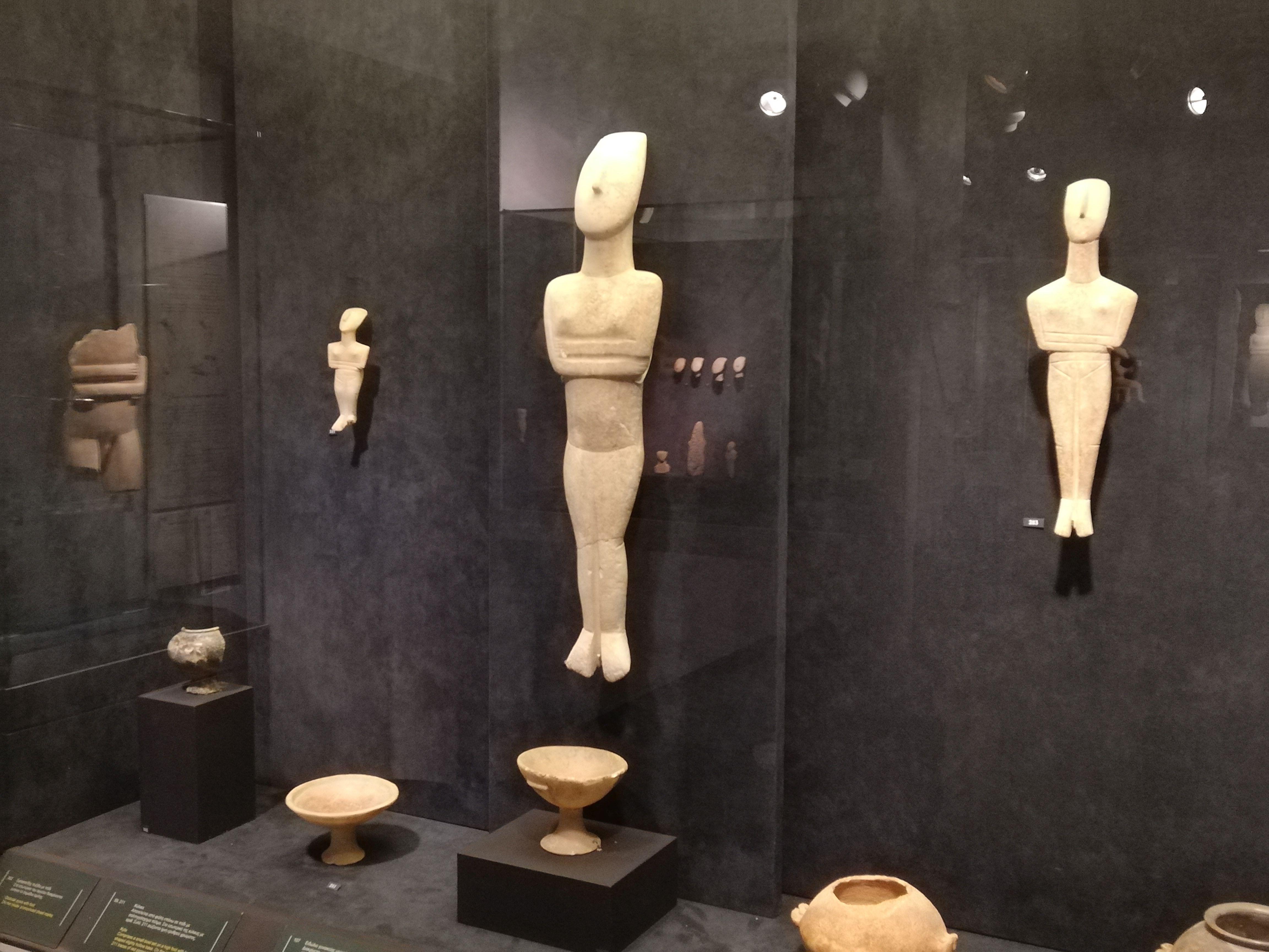 Atene tour privato: Museo Arte Cicladica e Museo Benaki