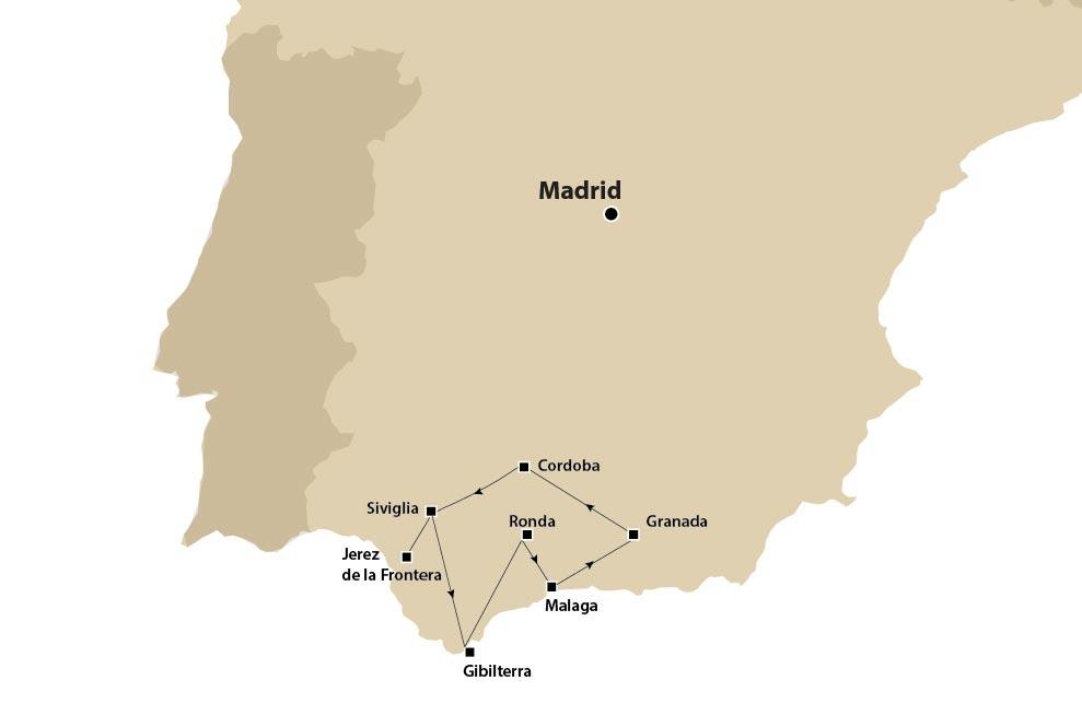 PASQUA 2022 - Gran Tour d'autore Andalusia da Malaga