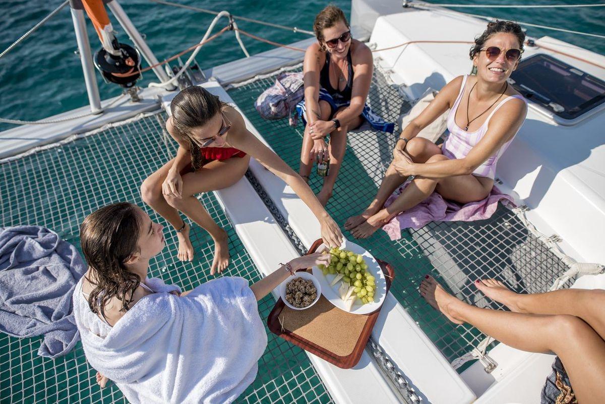 Crociera in catamarano Piccole Cicladi e Mykonos
