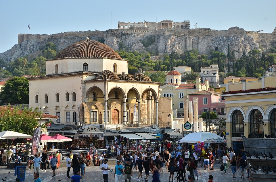 Atene tour privato con auto privata