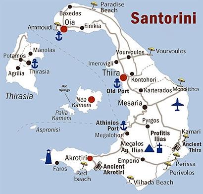 Santorini - Studio e appartamenti generici Kamari con volo Aegean Airlines