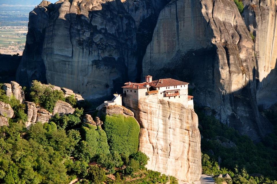Monasteri delle Meteore in treno da Atene