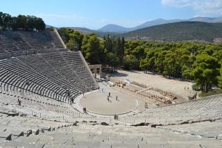 Argolide con Nauplia Micene Epidauro e Canale di Corinto
